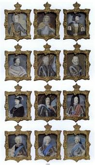 den oldenborgske kongerække fra christian i til frederik v by johann jacob bruun