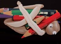 demi jasa jasamu pensil (the pencil's service) by samsul arifin