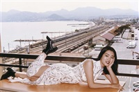 the chinese actress gong li. monte carlo by helmut newton