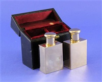 scent bottles (pair) by asprey & garrard