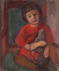 porträt eines mädchens by paul basilius barth