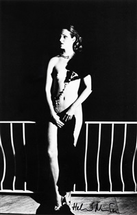 capri at night by helmut newton