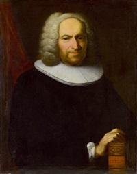 porträt des professors johann heinrich ringier by johann rudolf daelliker