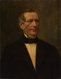 porträt eines herren by ferdinand brutt