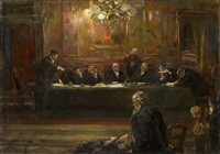 in front of the judges by ferdinand brutt