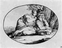 die samariterin by georg friedrich kersting