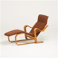 chaise by marcel breuer