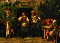 ein zudringlicher gast by johann-salomon hegi
