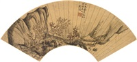 talking in a pavillion by liu mai