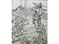 battle charge by noel laura bush