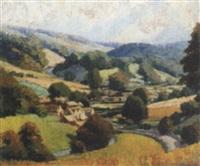 cotswold landscape by john r. davies