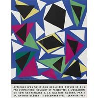 affiches d'expositions réalisées depuis 25 ans by henri matisse