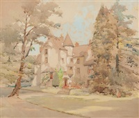 old leckie house, stirlingshire by robert eadie