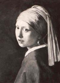 lady with turban by johannes (van delft) vermeer