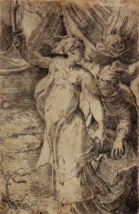 judith by girolamo mazzola bedoli