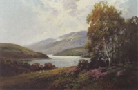 view of thirlmere, lake district by william yorke macgregor