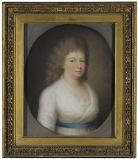 portrait of a lady (porträt einer dame) by johann lorenz kreul