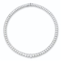 a rivière necklace by asprey & garrard