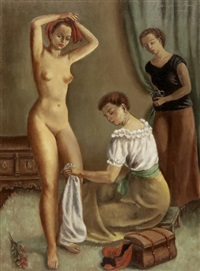 nach dem bade by marguerita pillini