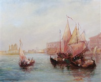 venice lagoon by charles cousin