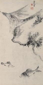 鱼乐图 by bada shanren