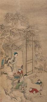 瑞雪图 by qiu ying