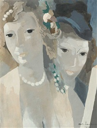 schwestern by marie laurencin