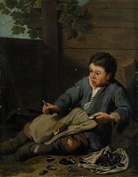 musselöppnare by jan josef horemans the younger
