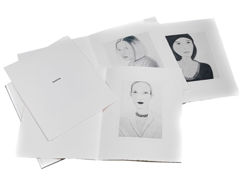 six female portraits portfolio of 6 by alex katz