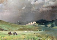 草原之夏 (summer of grassland) by ai xuan