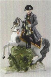 napoleon zu pferd by albert stahl & co