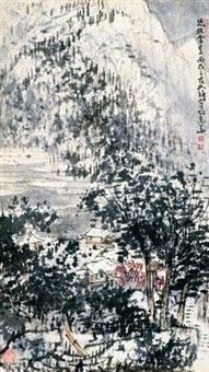 疏林雪意 by cui ruzhuo