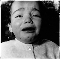 a child crying, n.j. by diane arbus
