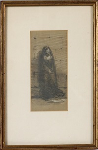a study of a nun by sir john everett millais