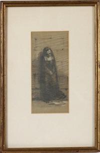 a study of a nun by sir john everett millais