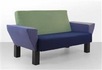 un divano west side by ettore sottsass