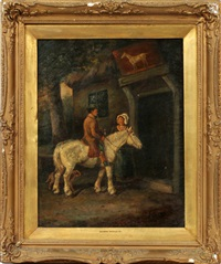 ye old white horse by george morland