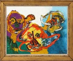 3 heads by karel appel