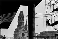 kaiser wilhelm gedächtniskirche, berlin by rené burri