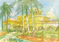 金棕榈酒店 by luo zhongli