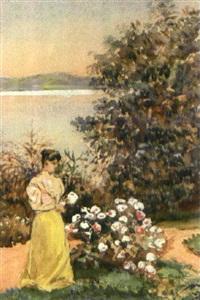 kvinna i trädgård by johan georg arsenius