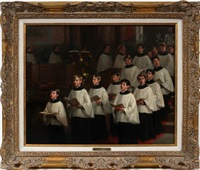 choir boys by william morris hunt