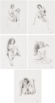 dessins secrets (5 works) by aslan