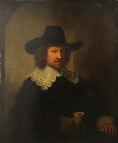 a portrait of nicolas van bambeeck by rembrandt van rijn