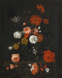 blomsterstilleben by ida gradman