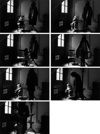 the bogeyman, sequence (7 works) by duane michals