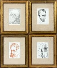 collectors guild (4 works) by salvador dalí