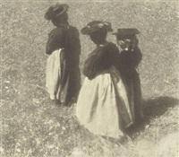 women of pustertal by heinrich kühn
