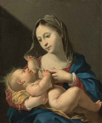 the virgin and child by jacques blanchard