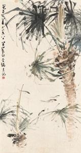南国风光图 landscape in south china by guan shanyue